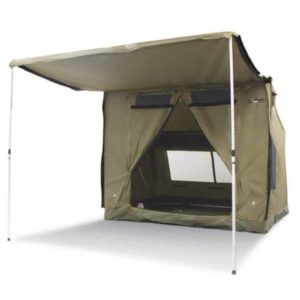 Tent Made of Polycotton Material