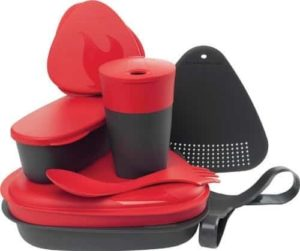 Light My Fire 8-Piece BPA-Free Meal Kit 2.0 with Plate, Bowl, Cup, Cutting Board, Spork and More
