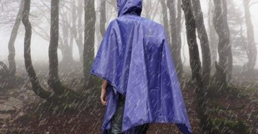 Best Rain Ponchos for Backpacking