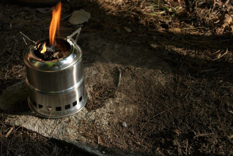 Ohuhu Stove (Best Wood Burning Camp Stove)