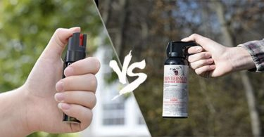 Bear Spray vs Pepper Spray