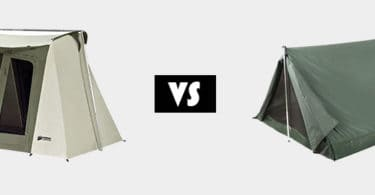 Canvas vs Nylon Tents
