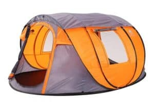 Bravindew Waterproof Tent X-Large Instant 5-6 Person Pop Up Dome Tent with Skywindow