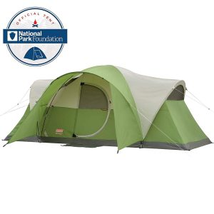 Coleman 8-Person Tent for Camping Elite Montana Tent