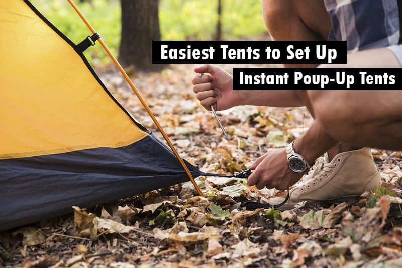 20 Easiest Tent To Set Up By Yourself Instant Pop Up