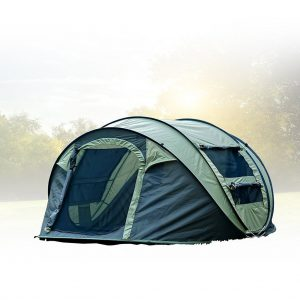 FiveJoy Instant Popup Camping Tent (1-3 Person) - NO Assembly Required - Easy Setup in Seconds
