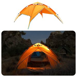 Pacific Stream Automatic Hydraulic Camping Tent for 2-3 Person Instant Pop Up Tent Portable Sun Shelter with Carrying Bag Lightweigt Tent