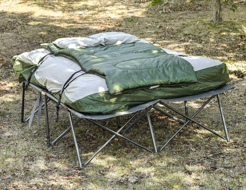THE BEST CAMPING COTS FOR TWO